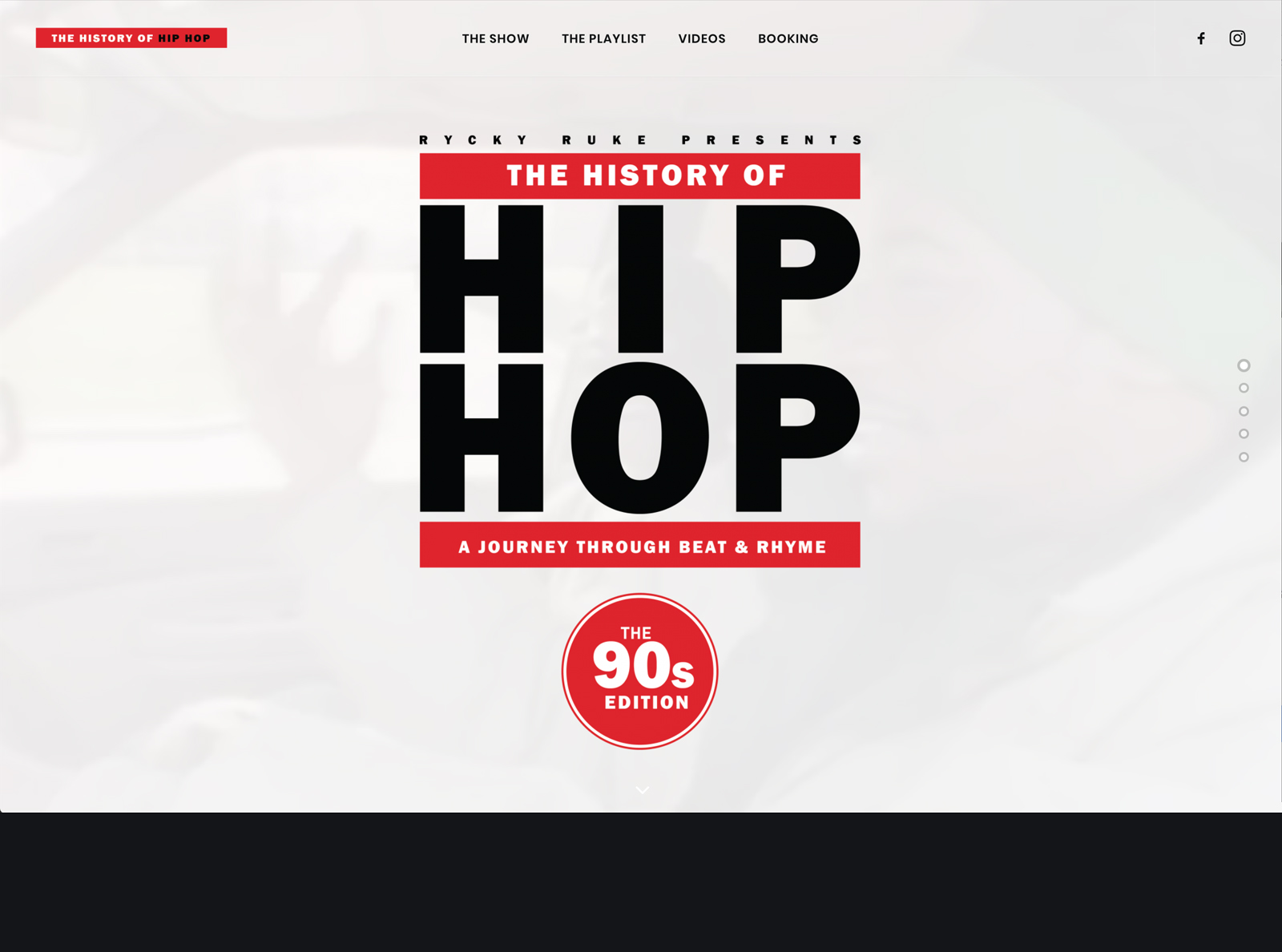 Brilliant The History Of Hip Hop Web Design Branding Black Home Interior And Landscaping Ologienasavecom